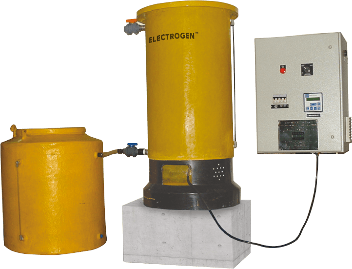Electrogen™ Batch& Dump Systems ( upto 400 gms/hr.)